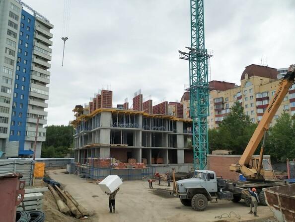 Фото Жилой комплекс РАСЦВЕТАЙ НА МАРКСА, дом 1, Ход строительства июнь 2019