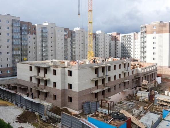 Ход строительства 23 сентября 2021