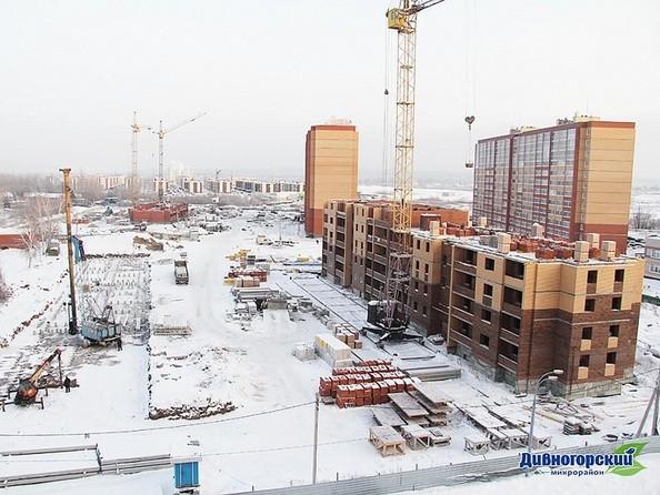 Фото Жилой комплекс ДИВНОГОРСКИЙ, 17/1, Ход строительства 18 января 2019
