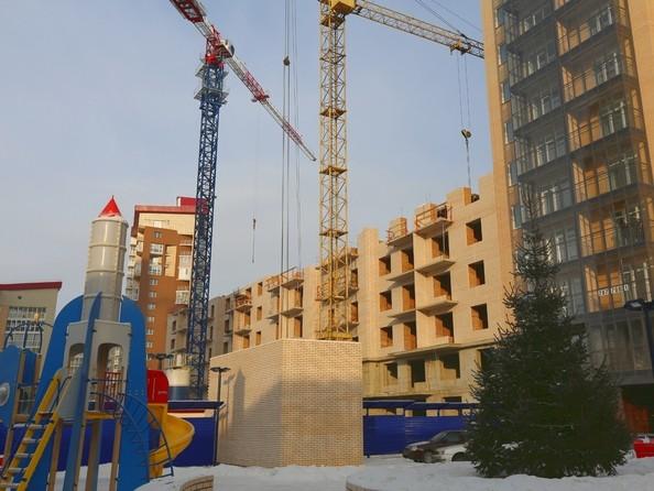 Фото Жилой комплекс SKY SEVEN, б/с 8, 2 оч, Ход строительства 22 января 2016
