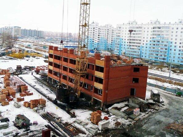 Фото Жилой комплекс ЛЮБИМЫЙ, дом 6, Ход строительства март 2018