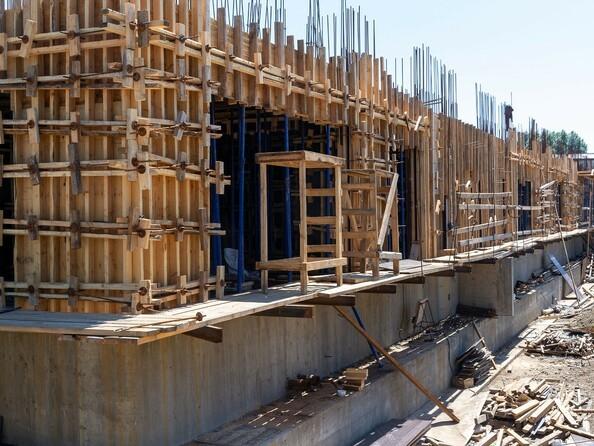 Ход строительства 4 июля 2021