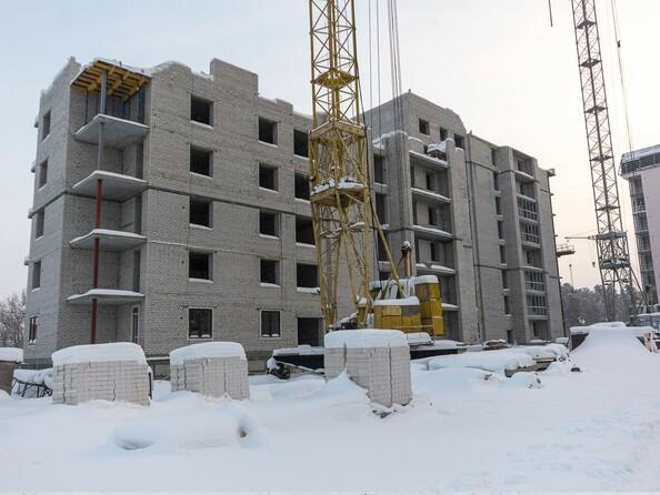 Ход строительства январь 2020. Блок-секции 1,2
