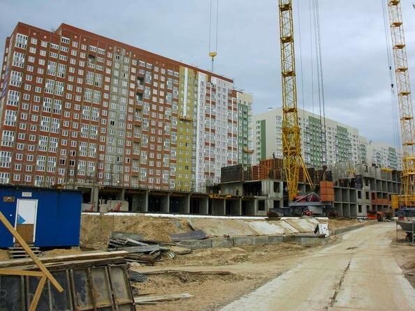 Фото Жилой комплекс КУЗЬМИНКИ, дом 13, Ход строительства май 2019