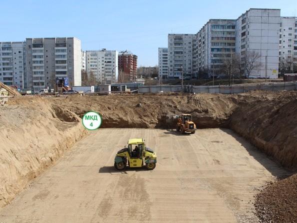 Фото Жилой комплекс РЕКОРД, 3 этап, Ход строительства 24 апреля 2018