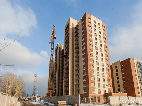 Ход строительства 25 февраля 2020