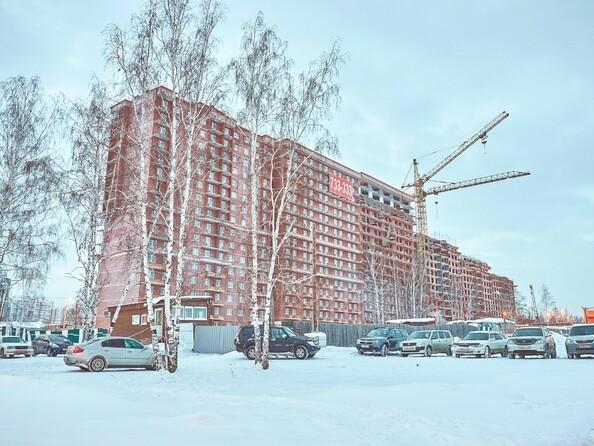 Фото Жилой комплекс Новое Ново-Ленино, б/с 30-32, Ход строительства 9 января 2018