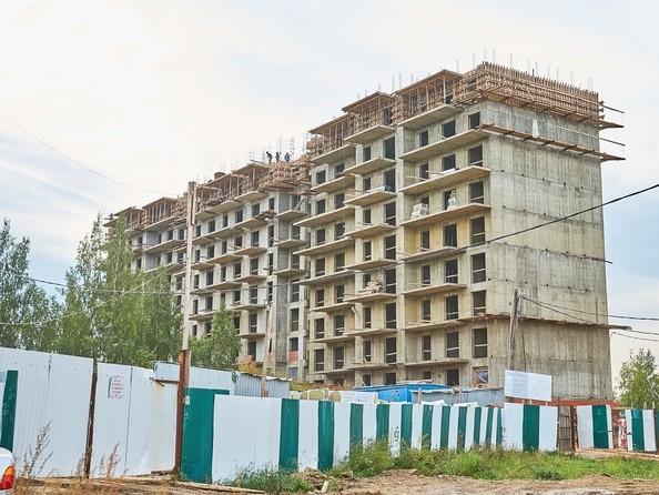 Фото Жилой комплекс ЭВОЛЮЦИЯ, 2 оч, б/с 4-8,9,10, Ход строительства 19 сентября 2018