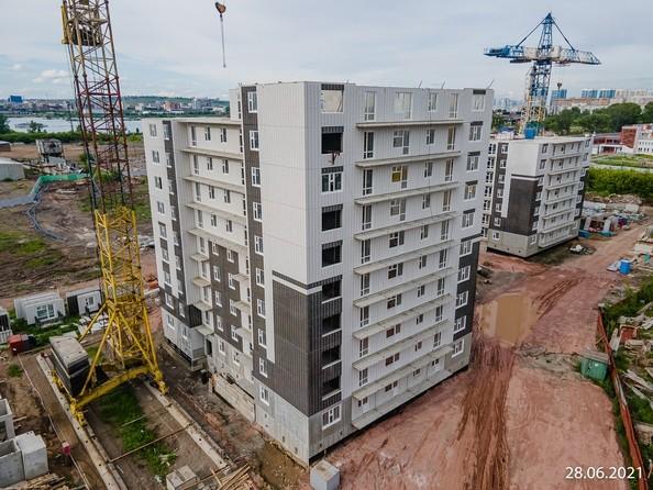 Ход строительства 28 июня 2021