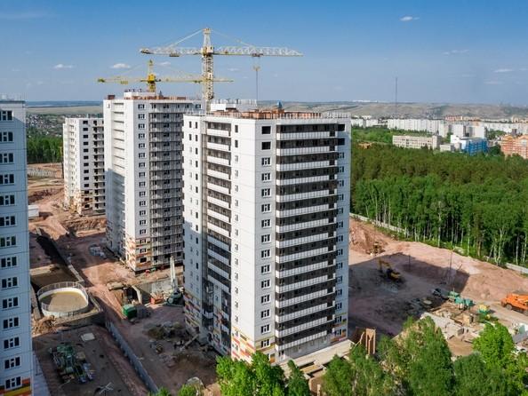 Фото ЛЕСНОЙ МАССИВ, дом 1.2, Ход строительства 9 июня 2019