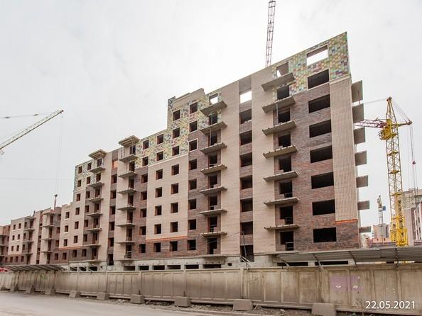Ход строительства 22 мая 2021