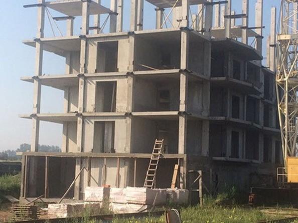 Фото Жилой комплекс СИНЕРГИЯ, 1 этап, 2 б/с, Ход строительства 3 июля 2017