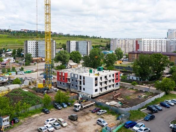 Фото Жилой комплекс КАЛИНА, дом 2, стр 1, Ход строительства 23 июня 2019