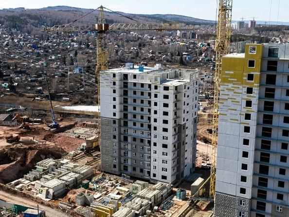 Фото Жилой комплекс КУРЧАТОВА, дом 8, стр 2, Ход строительства 14 апреля 2019
