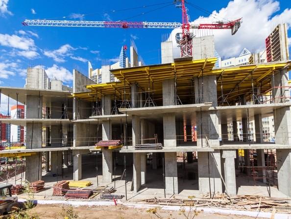 Фото Жилой комплекс БЕЗОБЛАЧНЫЙ, дом 2, Ход строительства 25 августа 2017