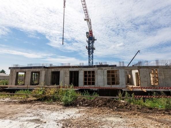 Ход строительства 3 августа 2020