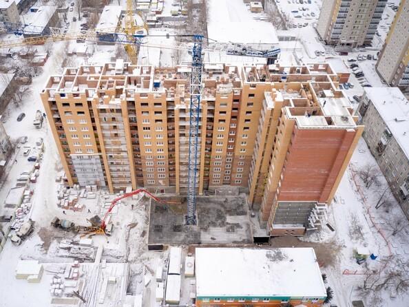 Ход строительства 18 ноября 2020