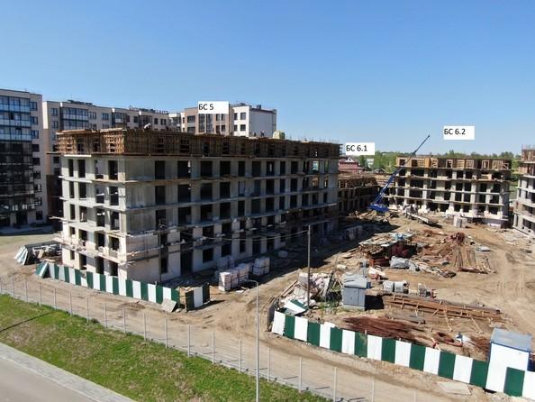 Ход строительства 5 июня 2021
