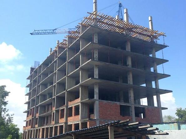 Ход строительства июнь 2018