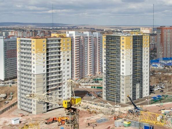 Ход строительства 18 апреля 2020