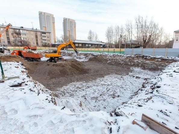 Фото ВАВИЛОВСКИЙ ДВОРИК, Ход строительства январь 2019