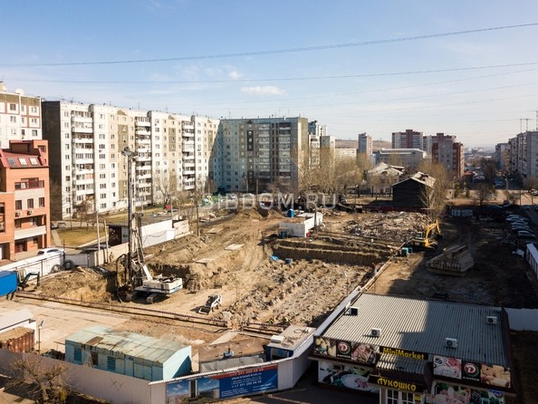 Фото Жилой комплекс КРИСТАЛЛ, корпус 1, Ход строительства 7 апреля 2019