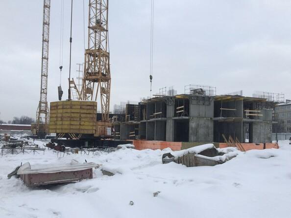Фото Жилой комплекс МИЧУРИНСКАЯ АЛЛЕЯ, 58 корпус 4 , Ход строительства февраль 2019