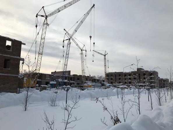 Фото Жилой комплекс Да Винчи, дом 5, Ход строительства январь 2019