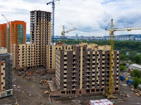 Фото Жилой комплекс ЮЖНЫЙ БЕРЕГ, 3 оч, дом 17, Ход строительства 24 июня 2019