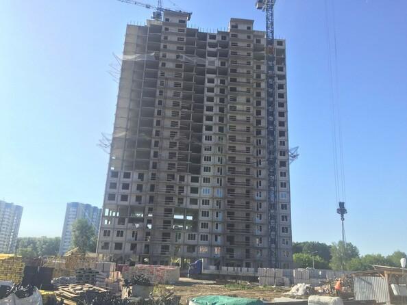 Фото Жилой комплекс МАТРЕШКИН ДВОР 105, дом 2, 1 этап, Ход строительства июнь 2019