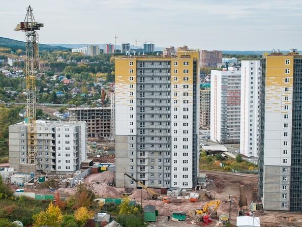 Фото Жилой комплекс КУРЧАТОВА, дом 8, стр 2, Ход строительства 19 сентября 2019