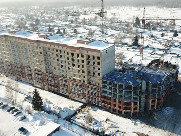 Фото Жилой комплекс КРЫЛЬЯ, б/с 4-5, Ход строительства 15 февраля 2019