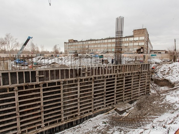 Ход строительства 24 февраля 2020