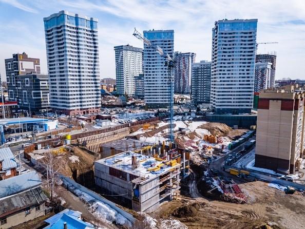 Ход строительства 8 апреля 2021