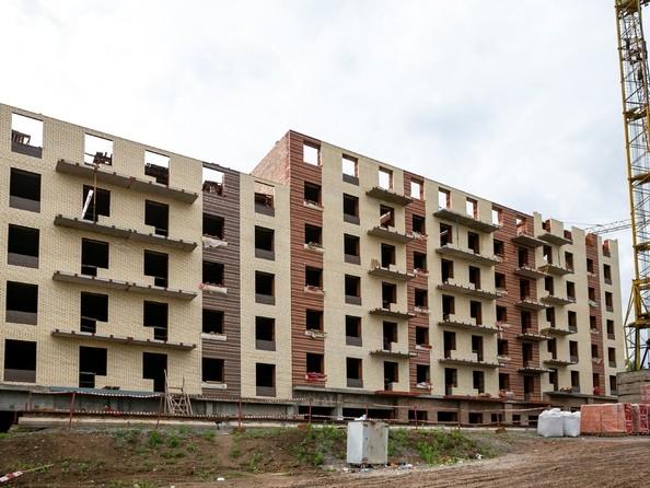 Фото Жилой комплекс Академгородок, дом 1, корп 3, Ход строительства 24 июня 2019