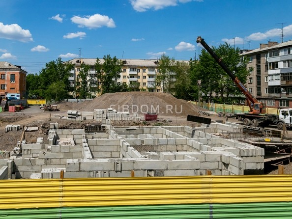 Фото ВАВИЛОВСКИЙ ДВОРИК, Ход строительства 9 июня 2019