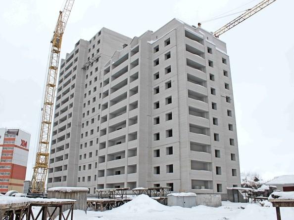 Фото Жилой комплекс ЛАЗУРНЫЙ-2, дом 1, Ход строительства январь 2019
