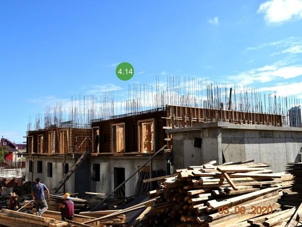 Ход строительства 3 сентября 2020