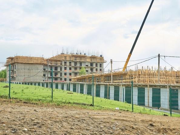 Фото Жилой комплекс ЭВОЛЮЦИЯ, 2 оч, б/с 4-1,2,3,4,5, Ход строительства 30 мая 2018