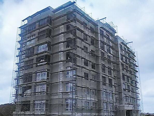 Фото СОЛНЕЧНЫЙ БУЛЬВАР, дом 18, корпус 3, Ход строительства май 2019