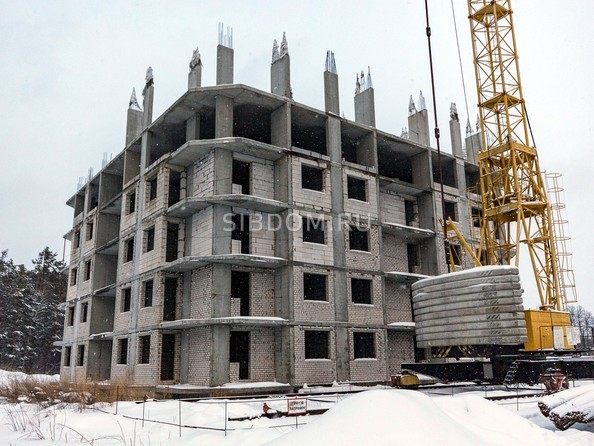 Фото Жилой комплекс МОХОВАЯ ПОЛЯНА, дом 7, Ход строительства декабрь 2018