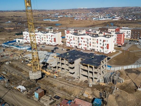 Фото Жилой комплекс ЖИВЁМ эко-район, 3 квартал, дом 1, Ход строительства 7 апреля 2019