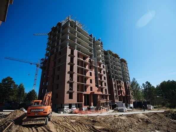 Фото Жилой комплекс ЭВОЛЮЦИЯ, 1 оч, дом 2, Ход строительства август 2019