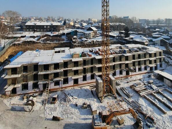Ход строительства 3 февраля 2020