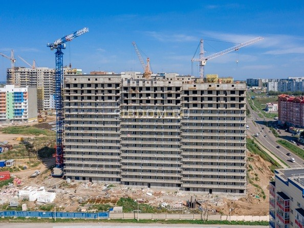 Фото Жилой комплекс Солнечный, 3 мкр, 2 квартал, дом 11, Ход строительства 27 августа 2019