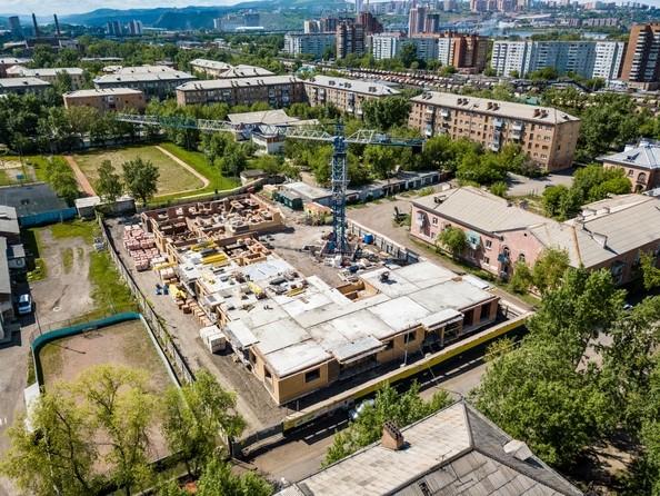 Фото Жилой комплекс СВОИ ЛЮДИ , Ход строительства 15 июня 2018