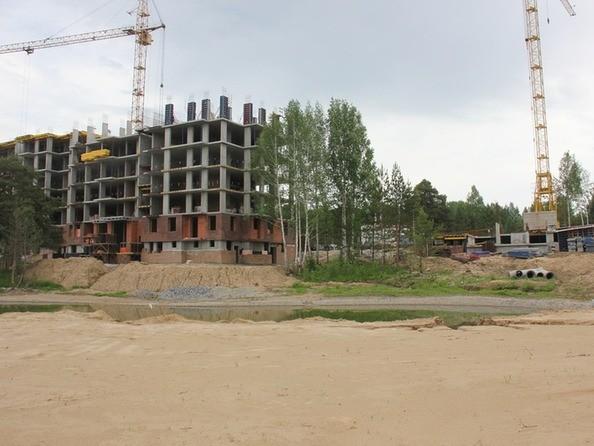 Фото Жилой комплекс ЭВОЛЮЦИЯ, 1 оч, дом 2, Ход строительства июнь 2018