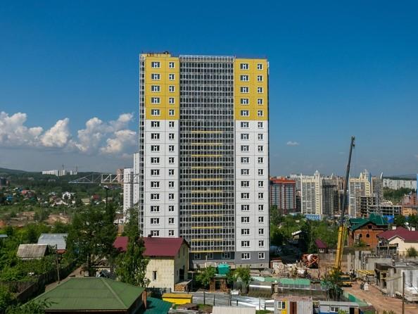 Фото Жилой комплекс КУРЧАТОВА, дом 6, стр 2, Ход строительства 15 июня 2018
