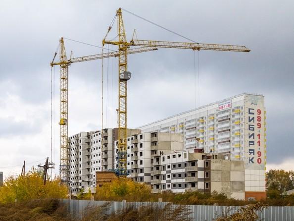 Фото Жилой комплекс Иннокентьевский, 3 мкр, дом 3, Ход строительства 12 октября 2017