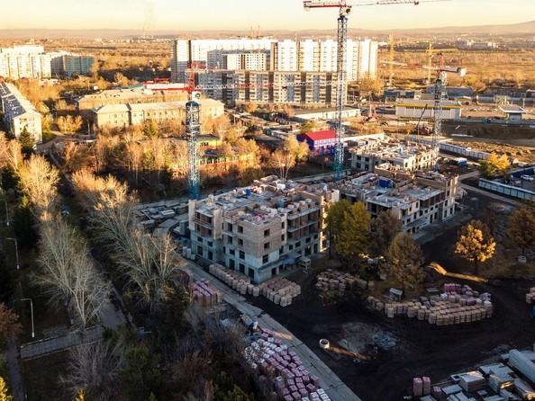 Фото Жилой комплекс SCANDIS (Скандис), дом 5, Ход строительства 29 октября 2018